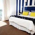Deluxe Double bedroom with balcony and sea view