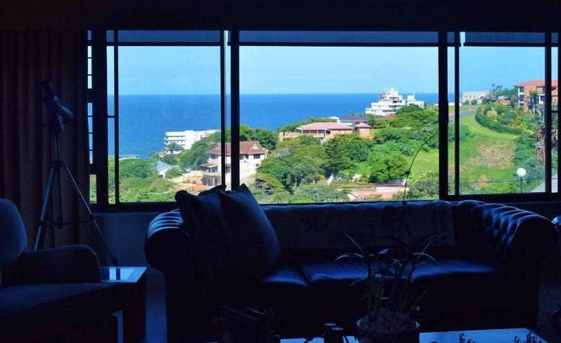 Upstairs lounge view