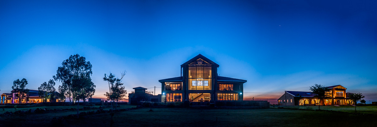 Three Contemporary Farmhouse Villas at R