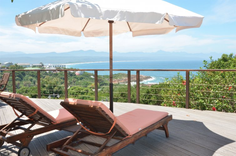Enjoy lazy days on the deck with the best view in town