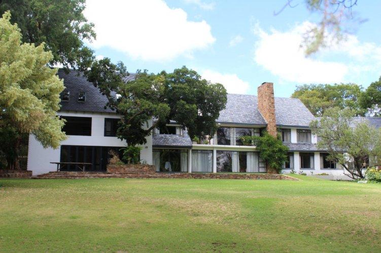 Main Farmhouse with Tree House
