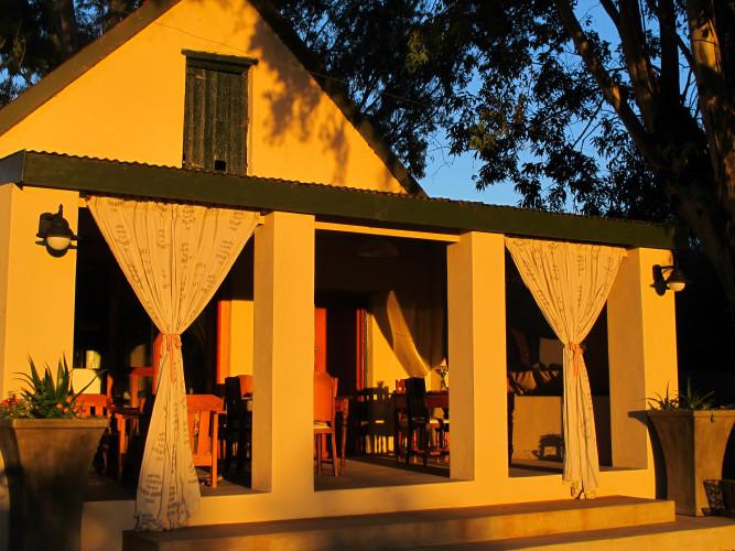 Elandsrus Dining room
