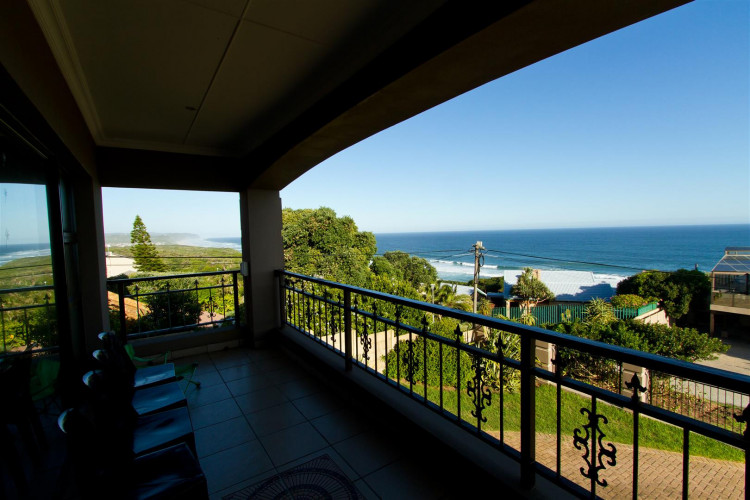 Tranquil Shores balcony view