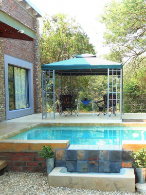 Porch, Pool and Entertainment