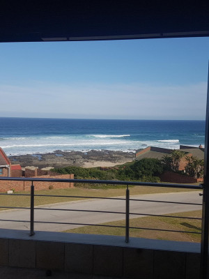 view from braai area