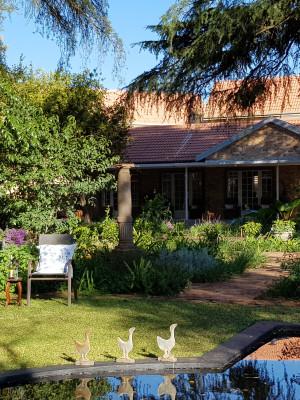 Tuin en huis