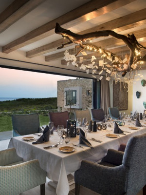 Dining room at Ocean House