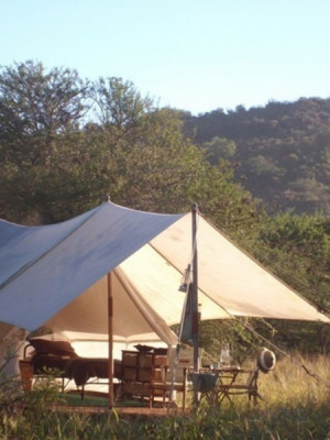 Beautiful tented accommodation