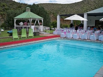 One of two swimmingpools