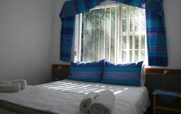 Bedroom of one bedroom apartment