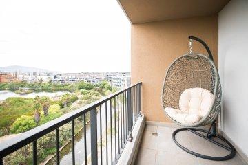 610 Waters Edge balcony
